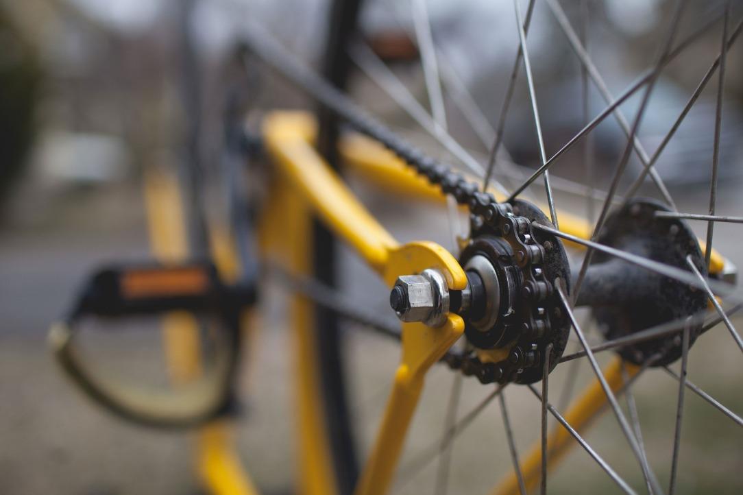 tracklocross bike rear cog